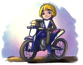 #20 for Illustrate Game Character and Motorcycle (2D) by wpurksaja