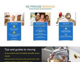 nº 18 pour Build a website for moving company par VirtualAdeptz17