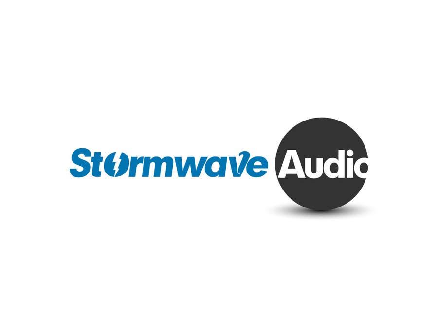 Konkurrenceindlæg #                                        63                                      for                                         Logo Design for Stormwave Audio