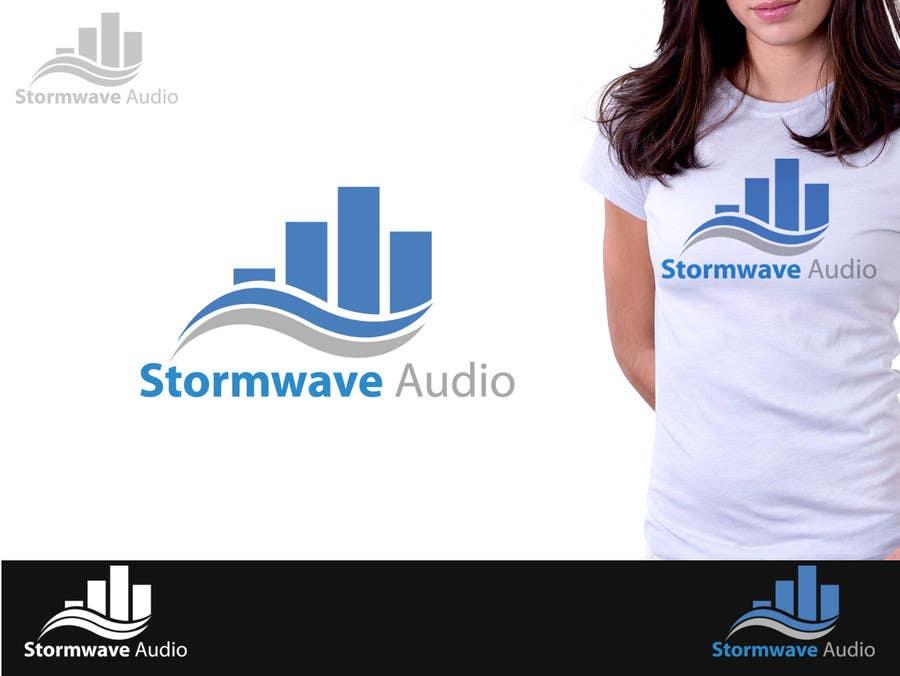 Konkurrenceindlæg #                                        44                                      for                                         Logo Design for Stormwave Audio