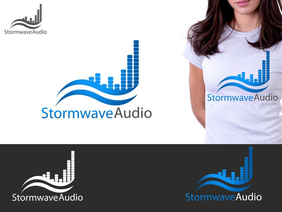 Konkurrenceindlæg #                                        20                                      for                                         Logo Design for Stormwave Audio