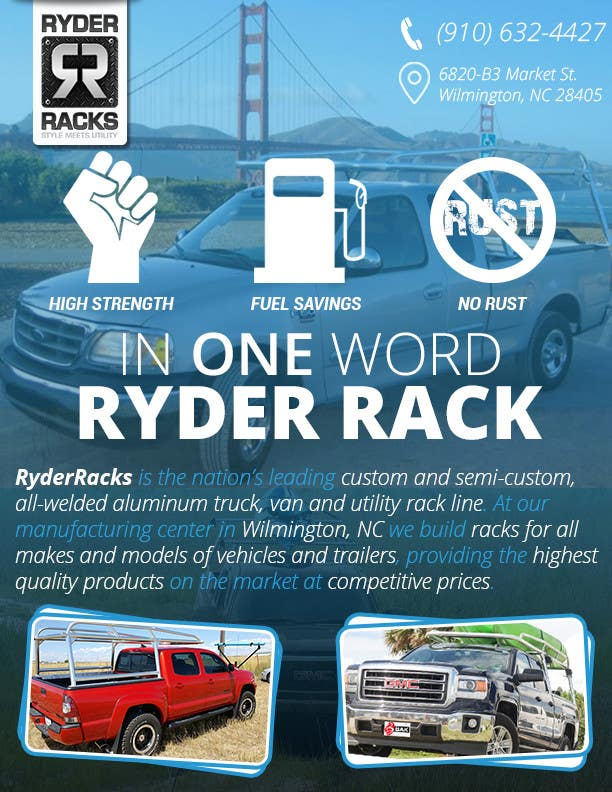 Proposition n°16 du concours Create a Flyer for High Speed Welding/ RyderRacks
