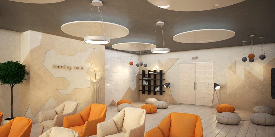 Kilpailutyö #                                        11                                      kilpailussa                                         3d interior Design for 2 rooms (2 days contest) -- 1000$ project