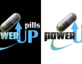 nº 162 pour Logo Design for Power Up Pills par damirruff86