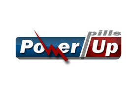 #234 para Logo Design for Power Up Pills por damirruff86