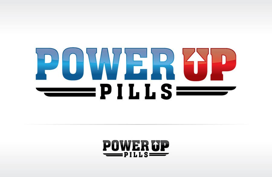 #221 for Logo Design for Power Up Pills by ipanfreelance