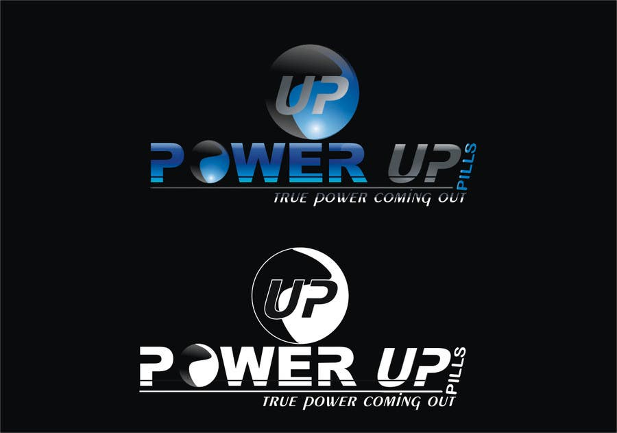 #171 for Logo Design for Power Up Pills by kunadesign