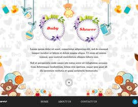 #9 for Fun Baby Themed Website Background Illustrations by adixsoft
