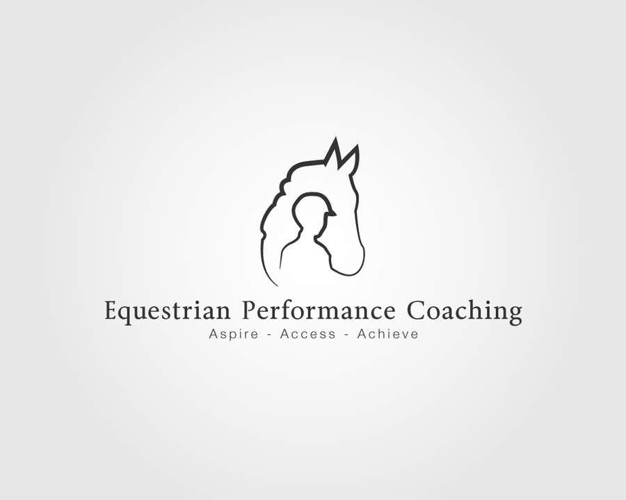 Kilpailutyö #11 kilpailussa Logo Design for Equestrian Performance Coaching