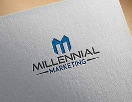 nº 15 pour Millennial Marketing Logo Design par Nicholas211