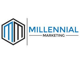 nº 70 pour Millennial Marketing Logo Design par bablaroy070