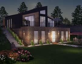 nº 18 pour Realistic renderings...two images for exterior building par khmamun50