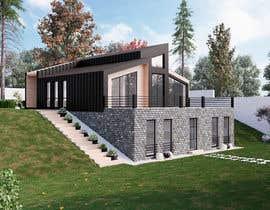 nº 11 pour Realistic renderings...two images for exterior building par RudEX