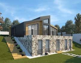 nº 26 pour Realistic renderings...two images for exterior building par RudEX