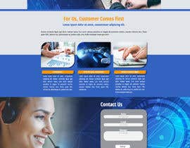 #8 for Website Redesign Mockup - HOME PAGE ONLY - Globenet by elmiguelacho