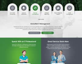 #18 for Website Redesign Mockup - HOME PAGE ONLY - Globenet by pixelwebplanet