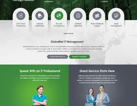 #19 for Website Redesign Mockup - HOME PAGE ONLY - Globenet by pixelwebplanet