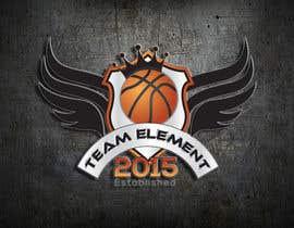 Nro 21 kilpailuun Design a Logo For Basketball Team2 käyttäjältä NextDezi