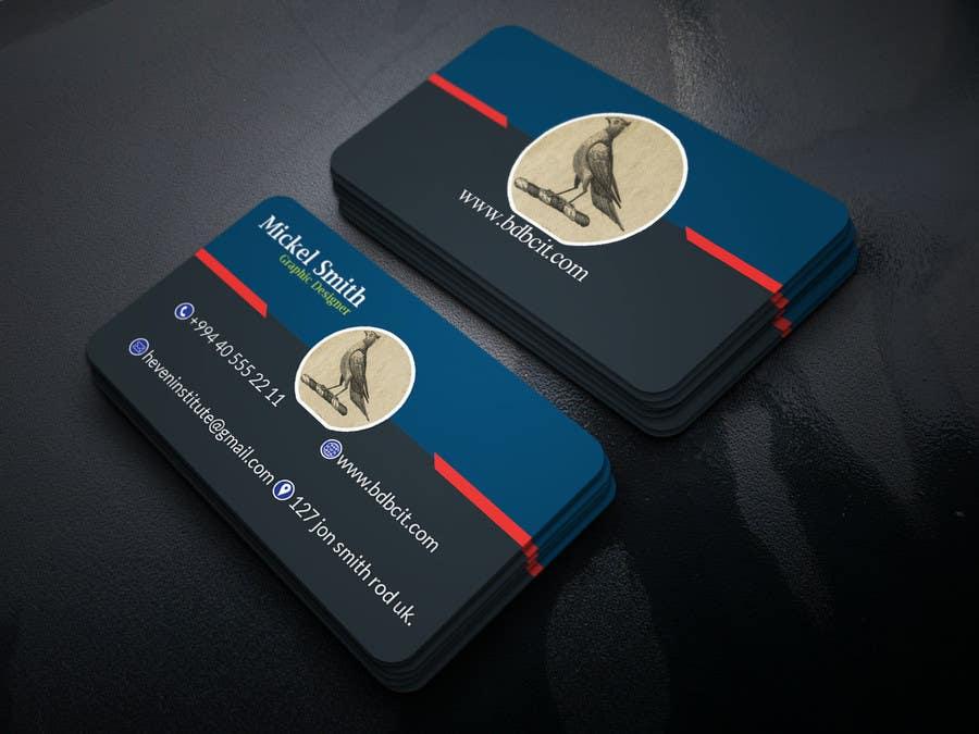 Proposition n°191 du concours Design some Business Cards
