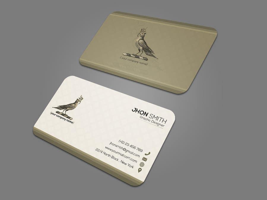 Proposition n°147 du concours Design some Business Cards