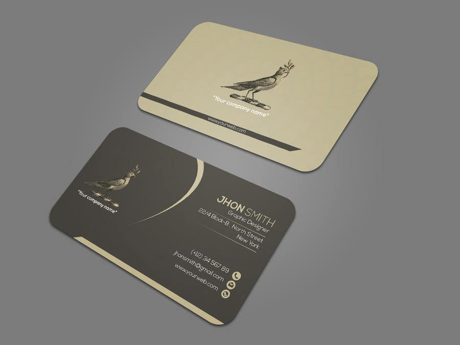 Proposition n°175 du concours Design some Business Cards