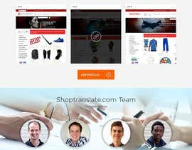 Nro 29 kilpailuun Design website mockups for translation / shop management software käyttäjältä webplane8
