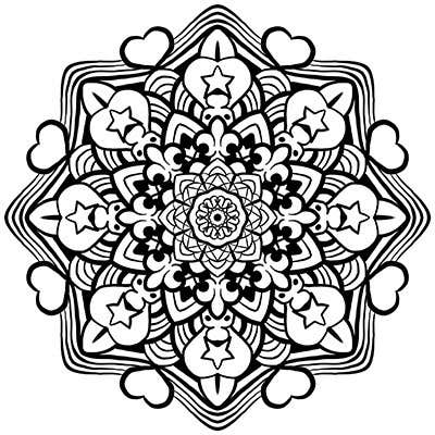 Contest Entry #                                        3                                      for                                         Looking for a Illustrator for Mandala Coloring Book