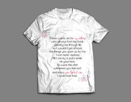 nº 45 pour simple tshirt design par alichi