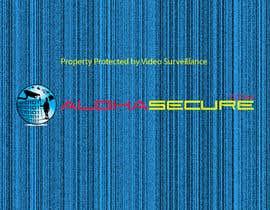 nº 2 pour Design a sign for security surveillance par danielminovski1