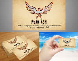 #28 untuk Business Card Design for Ryan Ash oleh junioreed25