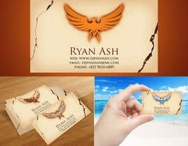 nº 9 pour Business Card Design for Ryan Ash par junioreed25