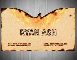 #36 untuk Business Card Design for Ryan Ash oleh liviug
