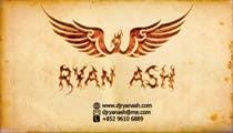 Graphic Design Конкурсная работа №51 для Business Card Design for Ryan Ash
