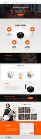 #27 for Design a Website Mockup for a new product by kockatt