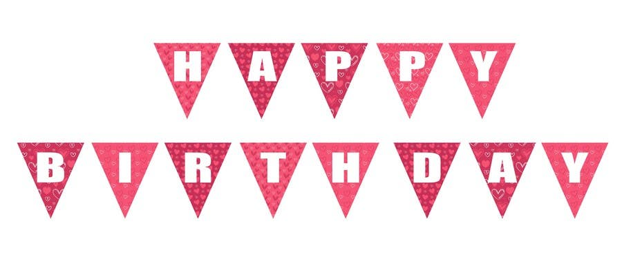 Proposition n°3 du concours Design a Happy Birthday Banner
