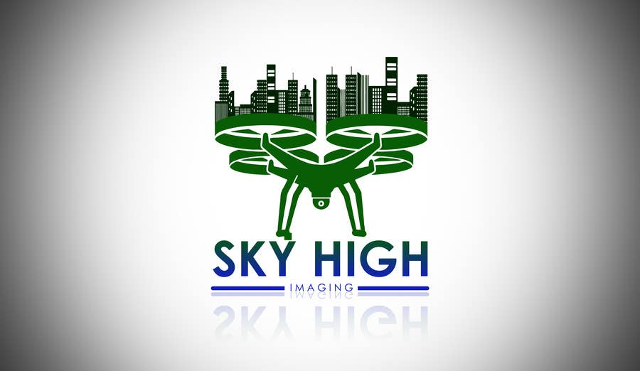 Contest Entry #19 for Nature Inspired Logo Needed for My New Drone Flying Company: Sky High Imaging.