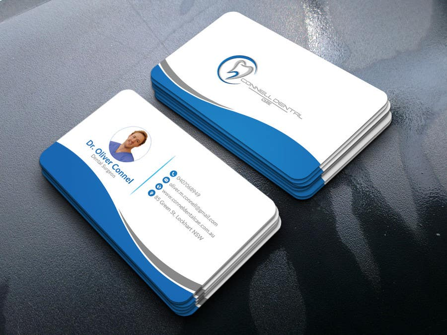 entry 110 by rxroy for design dental business cards freelancer