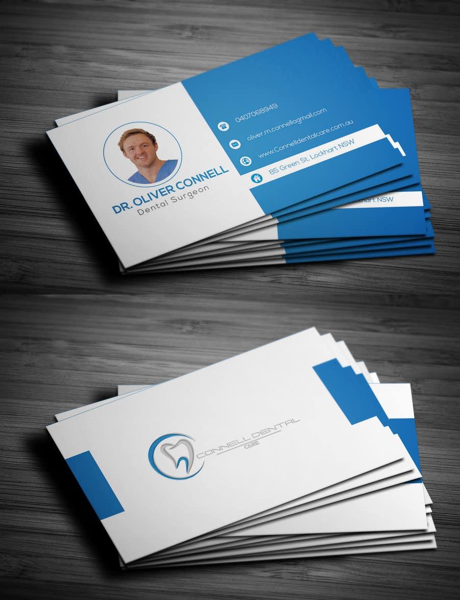 Entry #288 by xercurr for Design Dental Business Cards | Freelancer