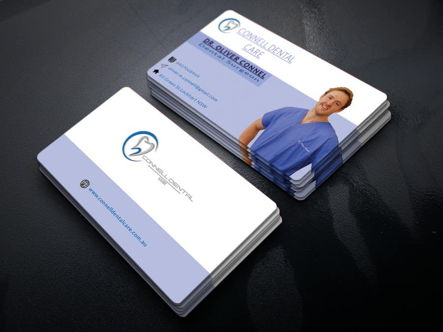 Entry #200 by mhmitindustri for Design Dental Business Cards ...