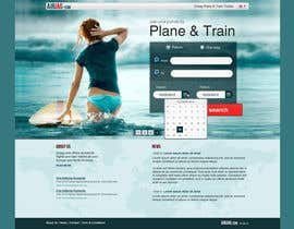 #9 for Website Design for International travelplanner: www.airjag.com by Huntresss