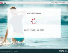 #59 for Website Design for International travelplanner: www.airjag.com by Huntresss
