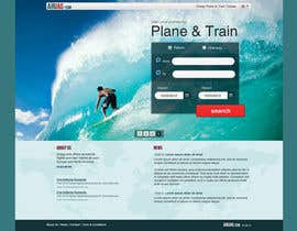 Huntresss tarafından Website Design for International travelplanner: www.airjag.com için no 10