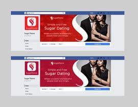nº 22 pour Design a Facebook landing page par miekee09