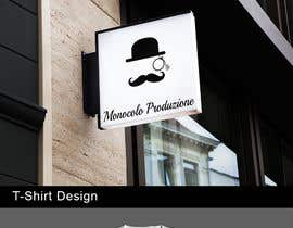 nº 9 pour Design a logo - person with a MONOCLE - minimalistic, high-end par dylanprescott61