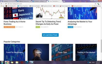 Image of                             Wordpress - scolling widget resi...