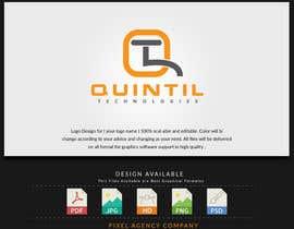 nº 41 pour Quintil Technologies Logo Desigin par PixelAgency