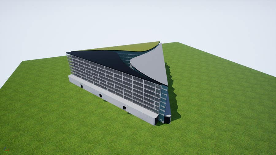 Proposition n°5 du concours Sports and Educational Centre -  3D Building