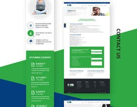 nº 27 pour Design a website mock up for existing company par syrwebdevelopmen