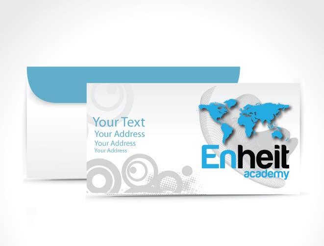Bài tham dự cuộc thi #                                        3                                      cho                                         Letterhead, business card and envelop package design for Enheit