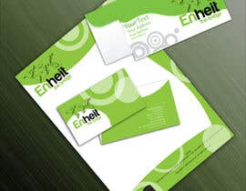 #40 para Letterhead, business card and envelop package design for Enheit por parminder1820